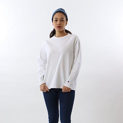T1011(ティーテンイレブン)ラグランロングスリーブTシャツ 19FW 【秋冬新作】MADE IN USA チャンピオン(C5-Q401)