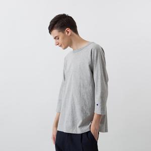 T1011(ティーテンイレブン) ラグラン3/4スリーブ【7分袖】Tシャツ 18SS MADE IN USA チャンピオン(C5-U401)