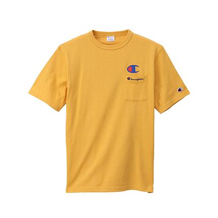 ロゴポケットTシャツ 19SS スタンダード チャンピオン(C8-H304)