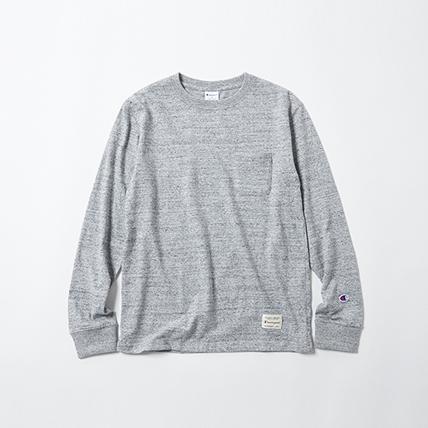 IVY ロングスリーブポケットTシャツ 18SS スタンダード チャンピオン(C8-H403)
