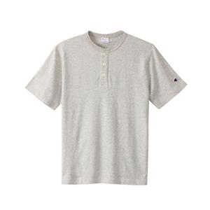 ヘンリーネックTシャツ 17FW スタンダード チャンピオン(C8-K302)