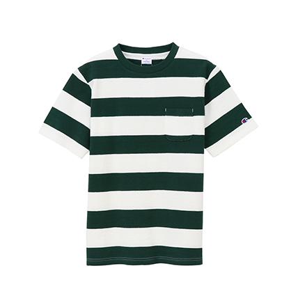 インレイボーダーTシャツ 19SS スタンダード チャンピオン(C8-K307)