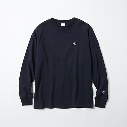 ロングスリーブTシャツ 18SS スタンダード チャンピオン(C8-L404)