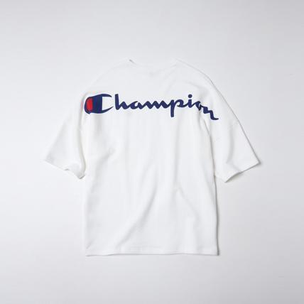 ビッグスウェットプリントクルー 19SS スタンダード チャンピオン(C8-M003)