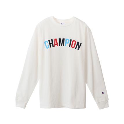 プリントロングスリーブTシャツ 18SS スタンダード チャンピオン(C8-M401)