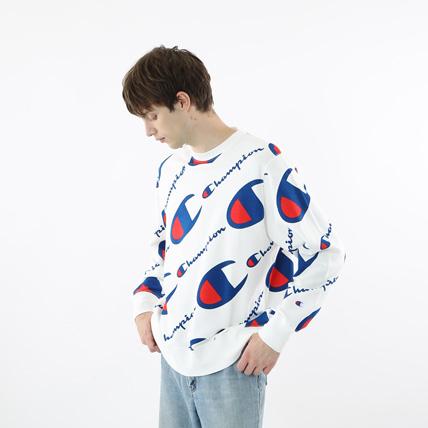 クルーネックスウェットシャツ 18FW 【秋冬新作】スタンダード チャンピオン(C8-N003)