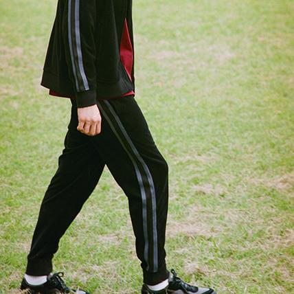 ベロアロングパンツ 18FW 【秋冬新作】スタンダード チャンピオン(C8-N203)
