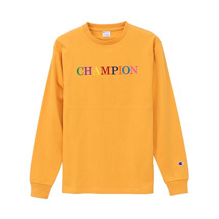 ロングスリーブTシャツ 19SS スタンダード チャンピオン(C8-P402)