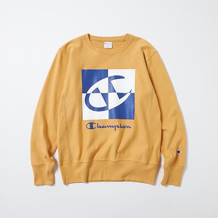 リバースウィーブクルーネックスウェットシャツ 19FW 【秋冬新作】スタンダード チャンピオン(C8-Q003)