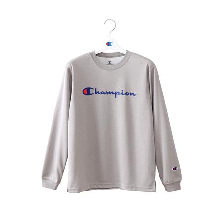 キッズ プラクティスロングスリーブTシャツ 18FW E-MOTION チャンピオン(CK-NB416)