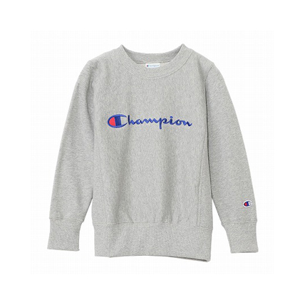 キッズ リバースウィーブ クルーネックスウェットシャツ 18FW 【秋冬新作】 チャンピオン(CS4740)