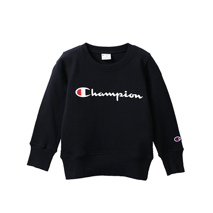 キッズ ロゴプリントスウェットシャツ 18FW チャンピオン(CS4799)