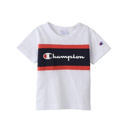 a3a8a0bc833e4 キッズ 切り替えTシャツ 19SS 春夏新作 キャンパス チャンピオン(CS4961)