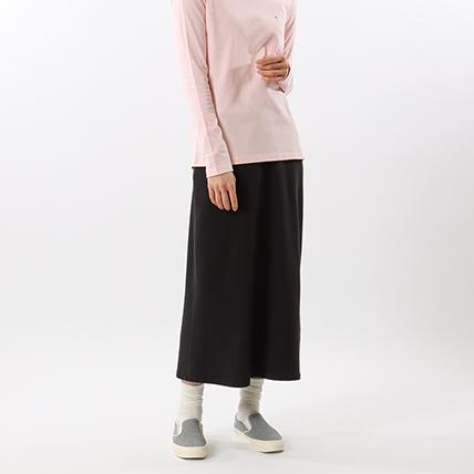 ウィメンズ ロングスウェットスカート 19SS チャンピオン(CW-K220)
