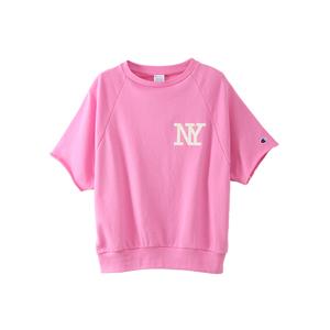 ウィメンズ ラグランビッグスウェットシャツ 18SS 【春夏新作】チャンピオン(CW-M006)