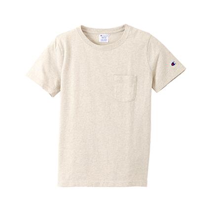 ウィメンズ ポケットTシャツ 19FW チャンピオン(CW-M321)