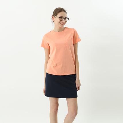 ウィメンズ ポケットTシャツ 18SS 【春夏新作】チャンピオン(CW-M321)