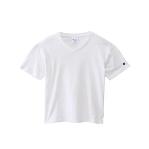 ウィメンズ VネックTシャツ 18SS チャンピオン(CW-M323)