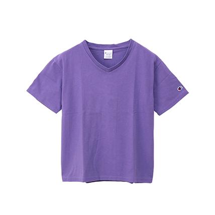 ウィメンズ VネックTシャツ 19SS チャンピオン(CW-M323)