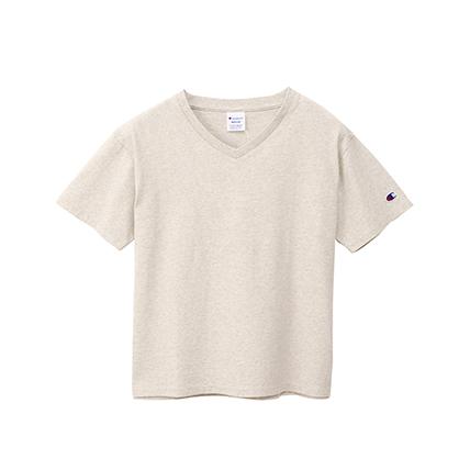 ウィメンズ VネックTシャツ 19FW チャンピオン(CW-M323)