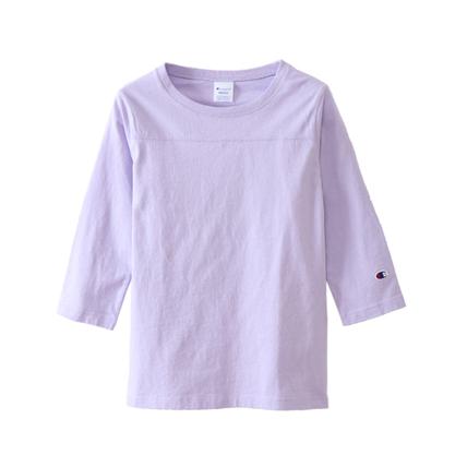 ウィメンズ 3/4スリーブ【7分袖】フットボールTシャツ 18FW チャンピオン(CW-M409)