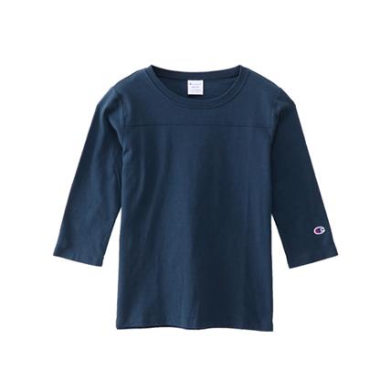 ウィメンズ 3/4スリーブ【7分袖】フットボールTシャツ 19SS チャンピオン(CW-M409)