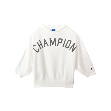 ウィメンズ ボトルネックスウェットシャツ 18SS 【春夏新作】アクティブスタイル チャンピオン(CW-MS006)