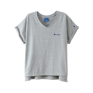 ウィメンズ VネックTシャツ 18SS アクティブスタイル チャンピオン(CW-MS323)