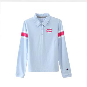 ウィメンズ ロングスリーブストレッチポロシャツ 18SS GOLF チャンピオン(CW-MS404)