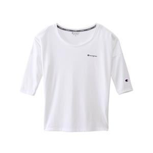 ウィメンズ C VAPOR 8分袖Tシャツ 18SS アクティブスタイル チャンピオン(CW-MS406)