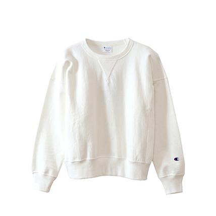 ウィメンズ リバースウィーブ(10oz)クルーネックスウェットシャツ 18FW チャンピオン(CW-N008)