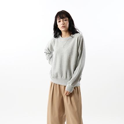 ウィメンズ リバースウィーブ(10oz)クルーネックスウェットシャツ 18FW 【秋冬新作】チャンピオン(CW-N008)