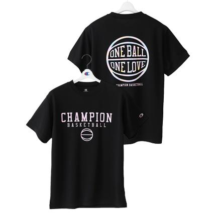 ウィメンズ プラクティスTシャツ 18FW 【秋冬新作】E-MOTION チャンピオン(CW-NB323)