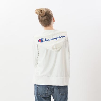 ウィメンズ ジップフードシャツ 18FW 【秋冬新作】アクティブスタイル チャンピオン(CW-NS414)