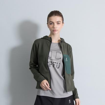 ウィメンズ フーディジャケット 18FW 【秋冬新作】CPFU チャンピオン(CW-NS620)