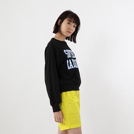 ウィメンズ クルーネックスウェットシャツ 19SS 【春夏新作】 チャンピオン(CW-P009)