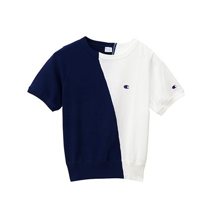 ウィメンズ ショートスリーブクルーネックスウェットシャツ 19SS【春夏新作】チャンピオン(CW-P013)