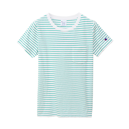 ウィメンズ ポケットTシャツ 19SS【春夏新作】チャンピオン(CW-P301)
