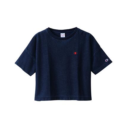 ウィメンズ リバースウィーブ Tシャツ 19SS【春夏新作】チャンピオン(CW-P313)