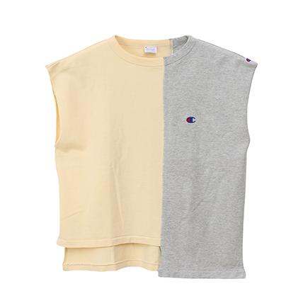 ウィメンズ ノースリーブTシャツ 19SS【春夏新作】チャンピオン(CW-P318)