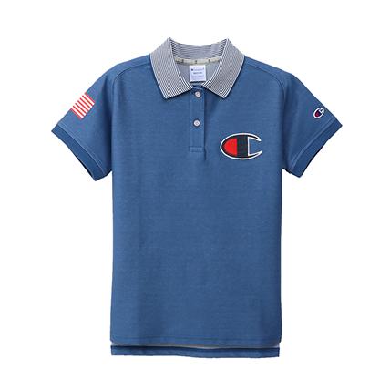 【ゴルフマーカープレゼント対象】ウィメンズ ポロシャツ 19SS【春夏新作】GOLF チャンピオン(CW-PG304)