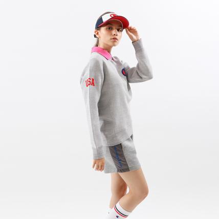 ウィメンズ セーター 19SS【春夏新作】GOLF チャンピオン(CW-PGA01)