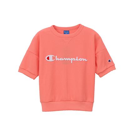 ウィメンズ クルーネックシャツ 19SS【春夏新作】アクティブスタイル チャンピオン(CW-PS001)