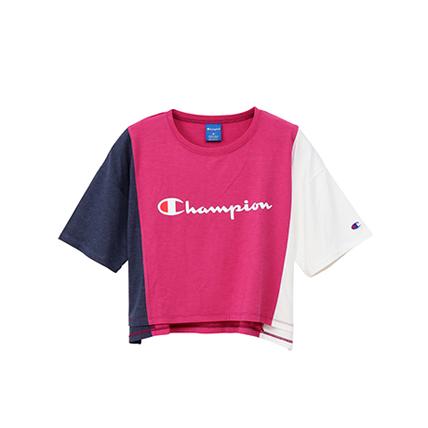 ウィメンズ クロップドTシャツ 19SS【春夏新作】アクティブスタイル チャンピオン(CW-PS305)