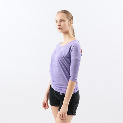 ウィメンズ C VAPOR 4/5スリーブ【8分袖】Tシャツ 19SS【春夏新作】アクティブスタイル チャンピオン(CW-PS401)