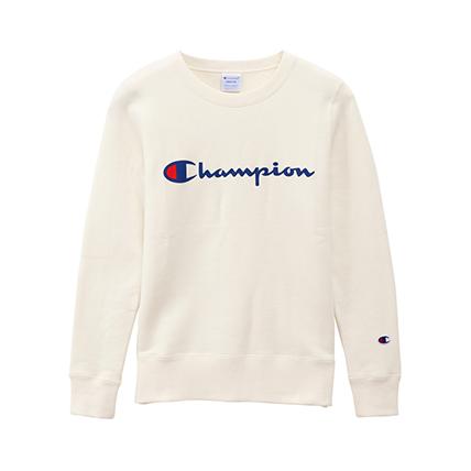 ウィメンズ クルーネックスウェットシャツ 19FW 【秋冬新作】チャンピオン(CW-Q001)