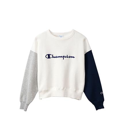 ウィメンズ リバースウィーブ(青タグ)クルーネックスウェットシャツ(11.5oz) 19FW 【秋冬新作】チャンピオン(CW-Q008)