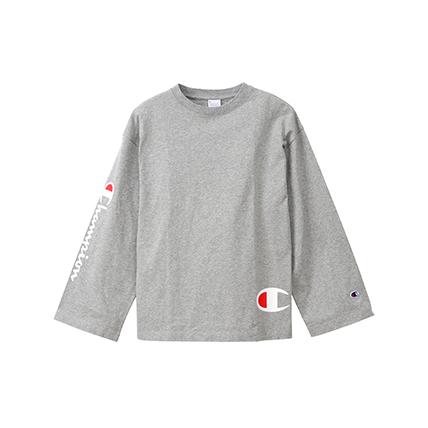 ウィメンズ ロングスリーブTシャツ 19FW【秋冬新作】チャンピオン(CW-Q402)