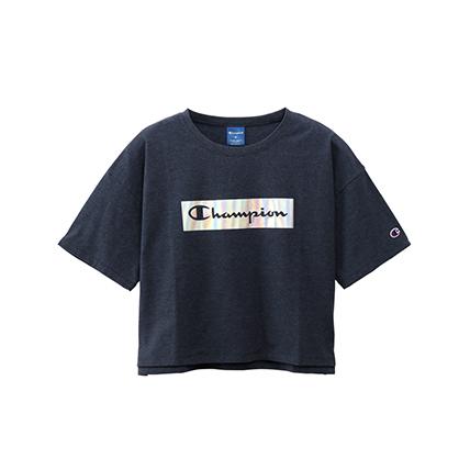 ウィメンズ クロップドTシャツ 19FW【秋冬新作】スポーツ チャンピオン(CW-QS304)