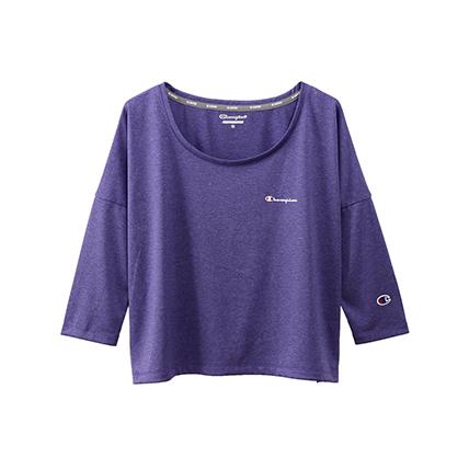 ウィメンズ C VAPOR クロップドTシャツ 19FW 【秋冬新作】スポーツ チャンピオン(CW-QS401)
